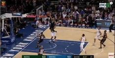 Giannis literally jumps over Hardaway for the dunk