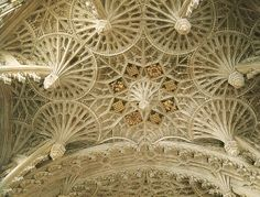 Vaulting of Henry VIi Chapel  Westminster Abby