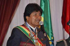 Espero que tu reconozcas Evo Morales porque él es el presidente de Bolivia, un hombre muy importante.