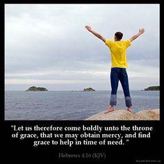 Inspirational Image for Hebrews 4:16