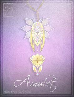 Amulet - Commission 4 by Rittik on DeviantArt