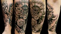 51 Coolest Steampunk Tattoo Designs | Amazing Tattoo Ideas