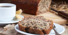 Recette de Banana bread allégé au stévia pour bananes trop mûres. Facile et rapide à réaliser, goûteuse et diététique.
