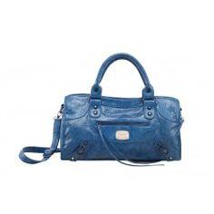 Alfio Young - Trendy Blue Handbag