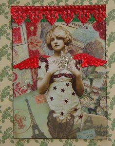 Joyeux Noel Artist Trading Card