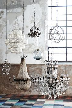 Biarritz Tiered Chandelier - anthropologie.com