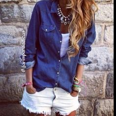 Branco e jeans