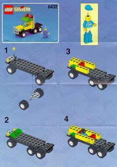 lego 6432 race car transport carrier