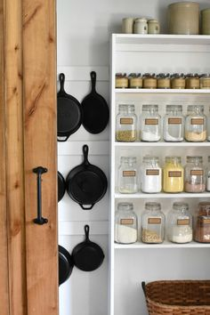 How to display, hang, store cast iron skillets