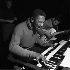 """Blue Note's founder was stunned when he first heard organist Jimmy Smith: """"A man in convulsions, face contorted, crouched over in apparent agony, his fingers flying, his feet dancing over the pedals. The air was filled with waves of sound I had never heard before."""" #BlueNote75 https://itunes.apple.com/us/album/back-at-chicken-shack-incredible/id641231030"""
