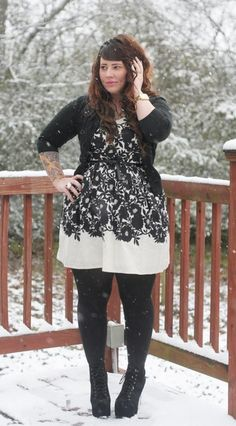 Great winter look for entertainment night