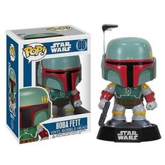 Star Wars Boba Fett Figure Star Wars merchandise http://funstarwars.com/shop/star-wars-action-figures/star-wars-boba-fett-figure/ 20.20 Model :Star Wars action figures toys Size:10cm In the parcel :figure with box
