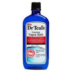 Dr. Teals Stress & Fatigue Foaming Vapor Bath - 16 oz