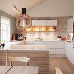 15 Astounding Scandinavian Kitchen Designs Youll Adore 15 Astounding Scandinavian Kitchen Designs Youll Adore The post 15 Astounding Scandinavian Kitchen Designs Youll Adore appeared first on Design Diy. Luxury Kitchen Design, Kitchen Room Design, Kitchen Layout, Interior Design Kitchen, Kitchen Decor, Kitchen Ideas, Kitchen Tile, Kitchen Shelves, Diy Kitchen