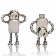 Robot USB stick More pins under www.supondo.com