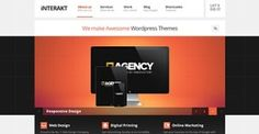 An agency WordPress theme perfectly suited for all kinds of creative websites, corporate and business firms and last but not least creative studios in search of a new and modern web presence.