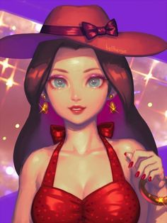 Pauline from Super Mario by @Bellhenge