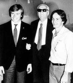 f1 Tres GIGANTES de la Fórmula Uno Didier Pironi, Don Enzo Ferrari, y Gilles Villeneuve. Mira los especiales de estas leyendas del deporte