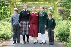 School uniforms from Ireland