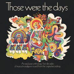 Groove is in the Art - psychodelic art in LP covers