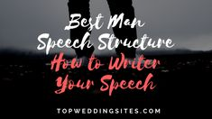 "Delivering a perfect best man wedding speech is a challenging responsibility for many men. While developing such a Best Man's Speech, one of the main dilemmas many ""Best Men"" face is to decide on whether to crack everyone up or to kee Great One Liners, Funny One Liners, Best Man Wedding Speeches, Best Speeches, Best Man Speech Structure, Best Man Speech Examples, One Liner Jokes, Groom's Speech, Maid Of Honor Speech"
