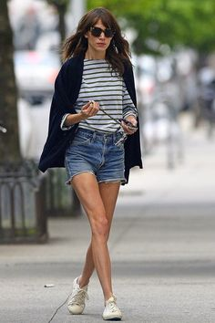 Striped breton tops and how to wear them (Glamour.com UK)