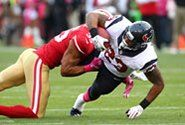 Texans fall hard in 34-3 loss at San Francisco