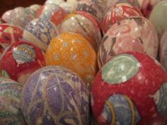 The most beautiful Easter eggs ever! and so easy to do... by kimberly