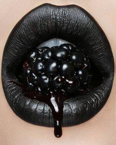 vladamua black lips, #gothic
