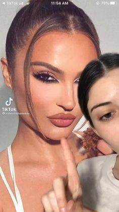 Nose Makeup, Flawless Face Makeup, Bold Eye Makeup, Makeup Eye Looks, Contour Makeup, Glam Makeup, Pretty Makeup, Skin Makeup, Eyeshadow Makeup