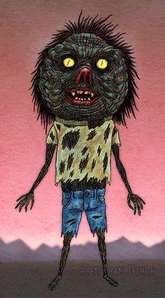 Rhett Hammersmith - D'Windelle Crumnutt - on his way to steal your. Optical Illusion Gif, Optical Illusions, Legend Of Sleepy Hollow, Headless Horseman, 3d Wallpaper, Halloween Night, Werewolf, Dark Side, Creepy