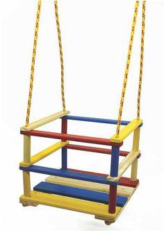 Balanço de Madeira - Brinquedice Brinquedos Educativos