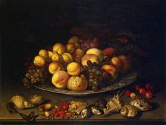 File:Balthasar van der Ast - Plate with Fruits and Shells - WGA1043.jpg