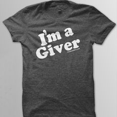 Feed Just One | I'm A Giver - Charcoal (30 meals) | Online Store Powered by Storenvy