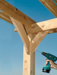 How to Build a Pergola Right in Your Backyard  - PopularMechanics.com