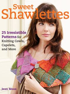 Sweet Shawlettes....Arranged in four chapters – Country, Couture, Folk and Vintage with projects to suit all skill levels. Techniques showcased include entrelca, shadow knitting, lace, aran, cables, fairisle, intarsia, modular and beaded knitting amongst others, allowing you to practise on a small project without the commitment of a larger piece.