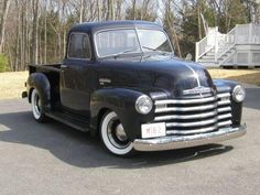 1950s Chevy 5-window. Please and Thank You.