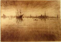 Nocturn, 1879-1880 - James McNeill Whistler