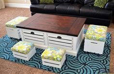 diy-wine-crate-storage-coffee-table-and-stool-project-ideas