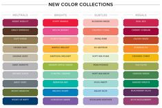 Stampin' Up! New Color Collections