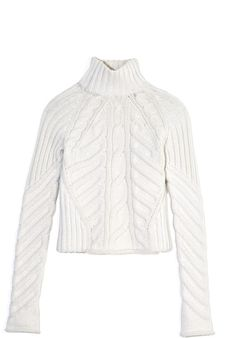 3guage Cashmere Handknit Cable Sweater - Lyst
