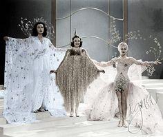 ziegfeld girl fashion | Hedy_lamarr_ Judy_garland_Lana_turner_stars_ziegfeld_girl