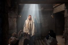 Jesus Christ declares to the people that Isaiah's prophecy has been fulfilled and that He is the Messiah.