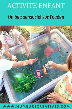 Mettez en place facilement un bac sensoriel sur l'océan avec des animaux marins.   Une activité découverte pour les enfants, qui s'amuseront à manipuler, à jouer et à s'inventer des histoires.  #bacsensorielocéan #bacsensorielenfant #oceanbin   #activitiesforkids #activitémer #activitéenfant #sensorykids #humeurscreatives #activitésnounou #activitésensorielle Parenting Toddlers, Parenting Advice, Parent Group, Peaceful Parenting, Attachment Parenting, Summer Crafts, Art Education, Diy For Kids, Montessori
