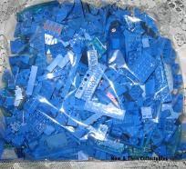 Bulk Blue Lego's 2lbs 10oz