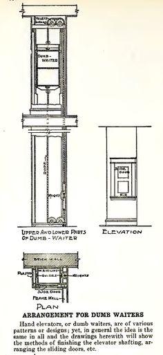 Flux design custom fabrication in portland or tessa for Dumbwaiter design plans