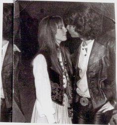 Jim Morrison a Pamela Courson