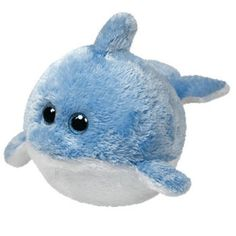 TY Beanie Ballz - LAGUNA the Dolphin (LARGE - 12 inch tall / 42 inch around)