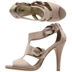 Tried these on - they are so fierce! If they didn't have such a narrow heel (and thus impossible for walking in this brick-paved town) they would probably be mine right now.