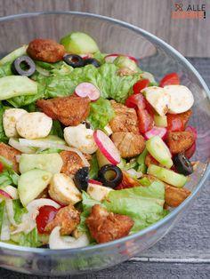 Tortellini, Mozzarella, Cobb Salad, Grilling, Salads, Food And Drink, Favorite Recipes, Healthy Recipes, Impreza